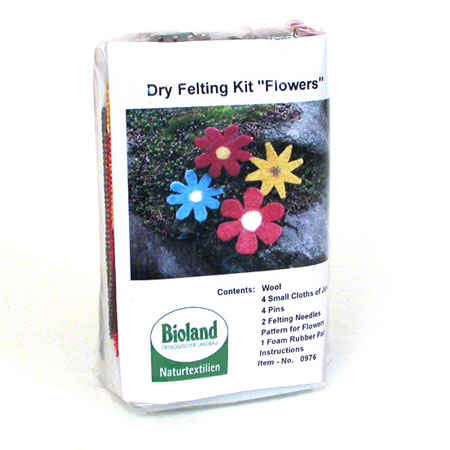 Flowers Dry Felting Kit