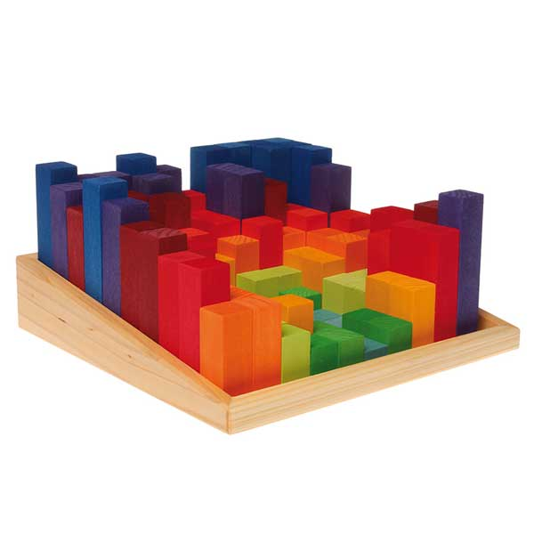 Stepped Counting Blocks 2 X 2