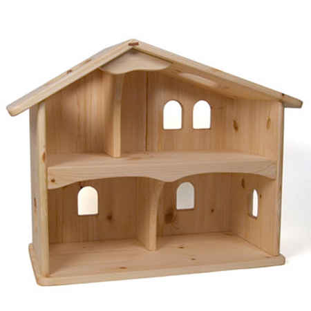 Wooden dolls and dollhouses at the wooden wagon Dollhouse wooden furniture