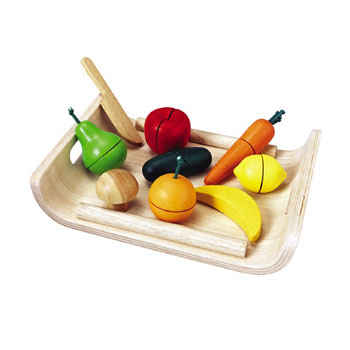 Assorted Fruits And Vegetables Play Food