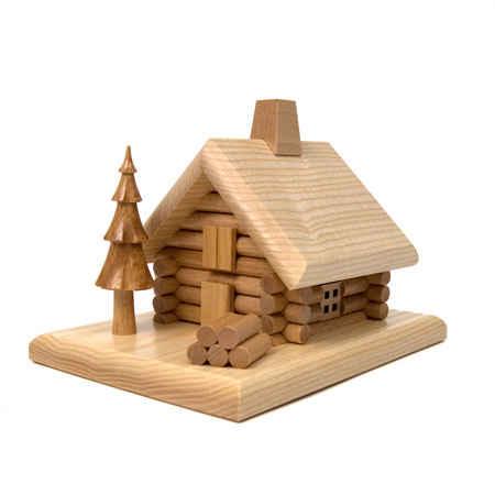 Log Cabin Smoking House