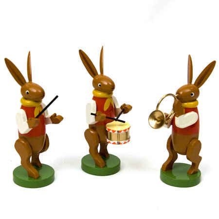 Easter Bunny Musicians II (Wu.K)