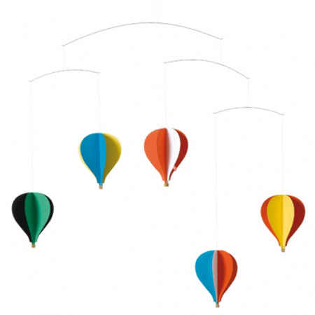 Gifts and decorations for toddlers at the wooden wagon - Flensted mobiles ...