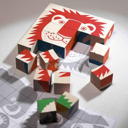 Naef animal puzzle from Switzerland