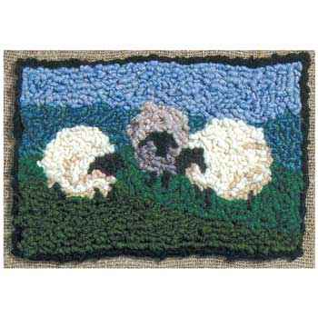 Wood N Wool Rug Hooking
