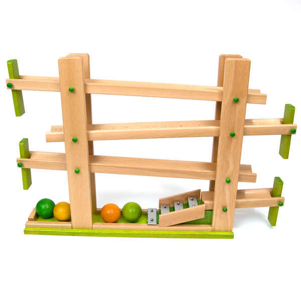 Wood Marble Runs And Kugelbahns From Germany At The Wooden Wagon