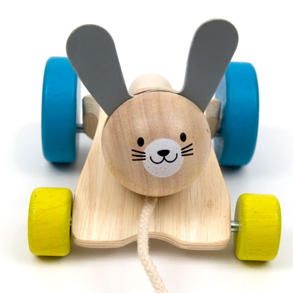 Hopping Rabbit Pull Toy