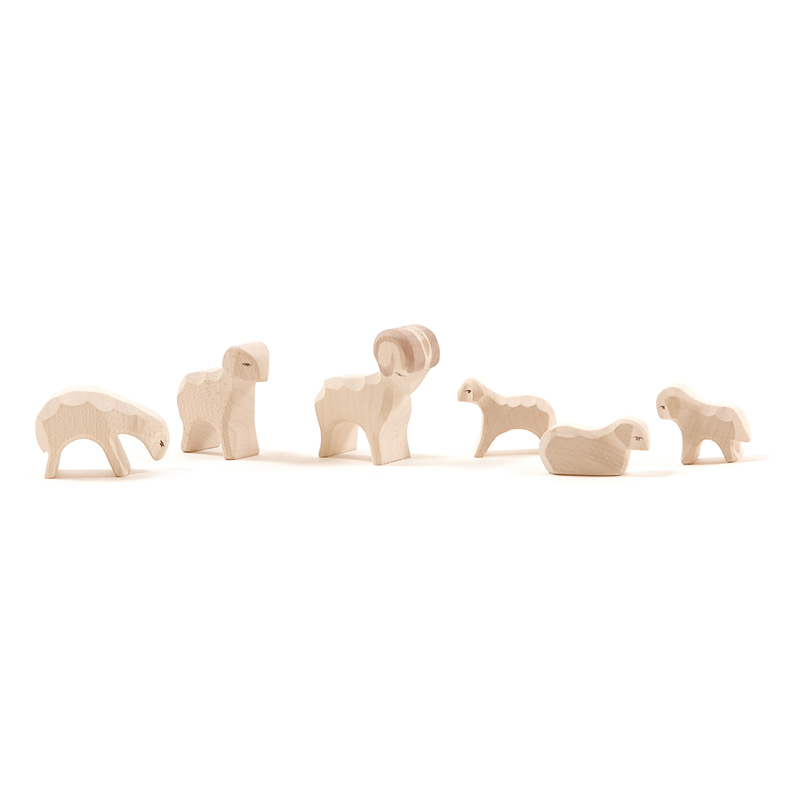 Ostheimer Mini Nativity Figures At The Wooden Wagon