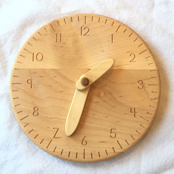Toy Clock for Teaching Time