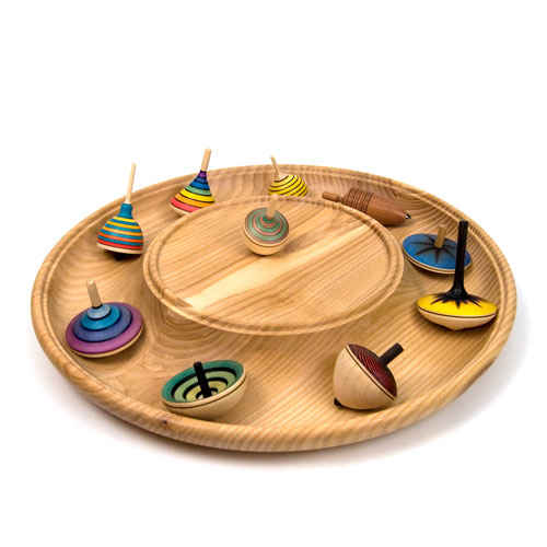 rondelle spinning top plate. Black Bedroom Furniture Sets. Home Design Ideas