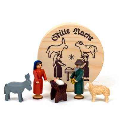 Miniature Nativity Set Boxed