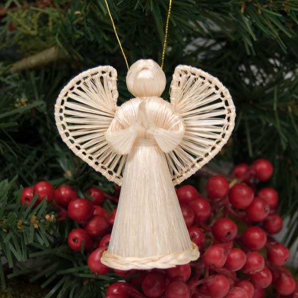 Small Hanging Angel Christmas Ornament