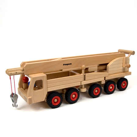 Fagus Wooden Toy Cars and Trucks at The Wooden Wagon