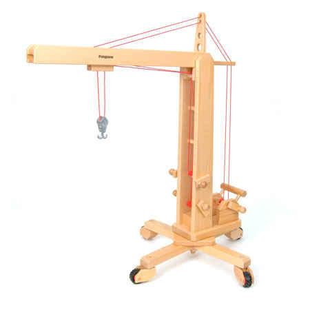 Wooden Model Cranes Wood Model Crane