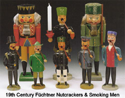 19th century Nutcrackers and Smoking Men by Fuechtner