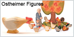 Ostheimer wooden toys and figures