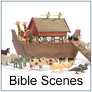 Nativity and Bible scenes