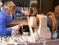 Erzgebirge Craftsman at Work